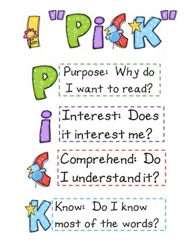 Introduction to Daily 5 Flipchart - Weekly Checklist - Anc