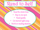 Daily 5 Behaviors Anchor Charts/Signs/Posters (Tangerine a