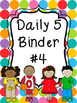 Daily 5 Binder Covers