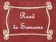Daily 5 Bulletin Board Signs/Posters (Red Chalkboard/Curly
