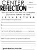 Daily 5 Checklist & Reflection