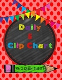 Daily 5 Clip Chart