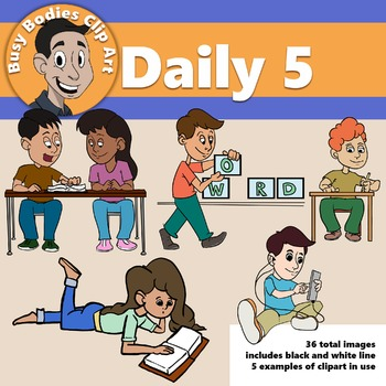 Daily 5 Clipart