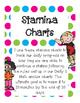 Daily 5 MATH Stamina Charts