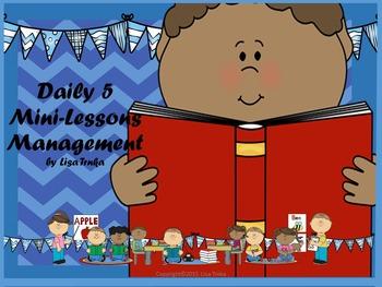 Daily 5 Mini-lessons X