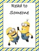 Daily 5 Minion Posters