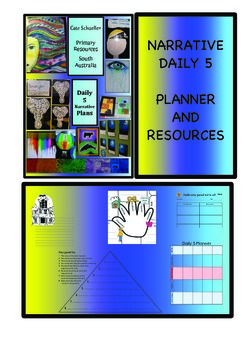 Daily 5 Narrative Planners BUNDLE