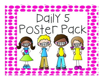 Daily 5 Poster Pack