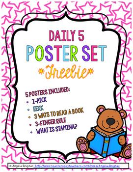 Daily 5 Poster Set *FREEBIE*