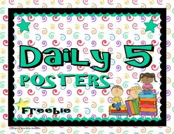 Daily 5 Posters FREEBIE
