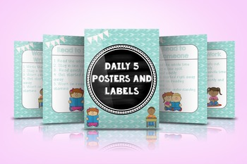 Daily 5 Posters and Labels