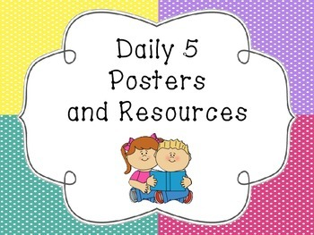 Daily 5 Posters and Resources