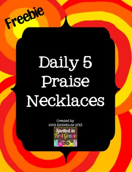 Daily 5 Praise Necklaces