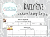 Daily 5 Reading Logs