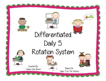 Daily 5 Rotation System- Differentiated!!