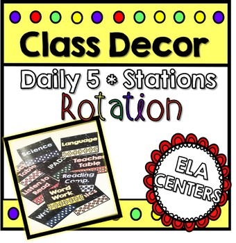 Daily 5 Centers Rotation