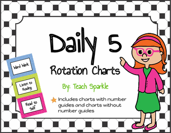 Daily 5 Rotations Choice Charts