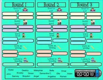 Daily 5 Rotations (Smartboard)