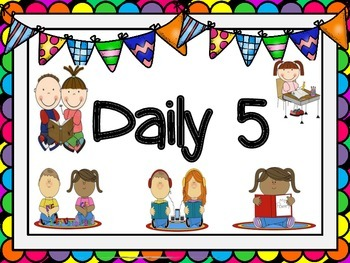 Daily 5 Sign