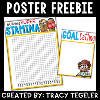 Daily 5 Stamina and Goal Setting Posters