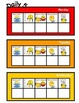 Daily 5 Student Self-Management chart