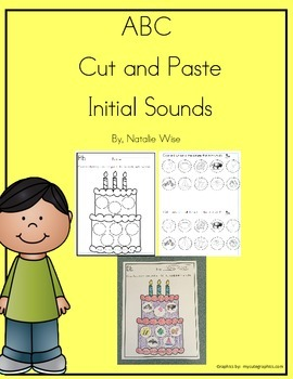 Daily 5 Word Work Initial Sounds ABC