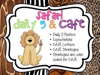 Center Expectations - Safari Theme