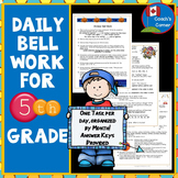 Bell Ringers for 5th Grade