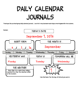 Daily Calendar Journal: Peanuts Ed