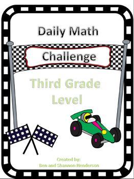 Daily Calendar Math Challenge