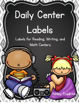 Daily Center Label Cards
