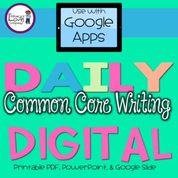 Daily Common Core Writing Journal Prompts