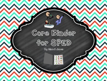 Daily Core Binder for Special Education