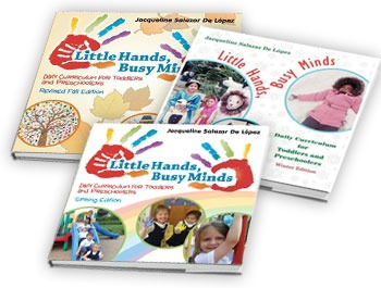 Daily Curriculum for Toddlers and Pre-K - Winter, Fall and