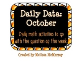Daily Data and Question of the Week for October