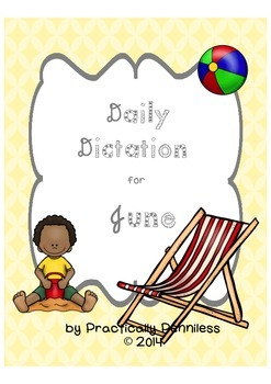Daily Dictation Sentences for June