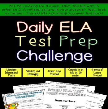 Daily ELA Challenge