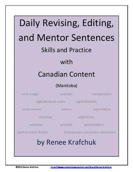Daily Editing, Revising, and Mentor Sentences (MB)