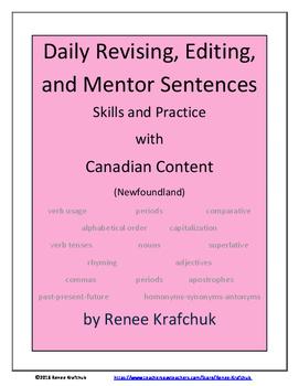 Daily Editing, Revising, and Mentor Sentences (NL)
