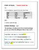Daily Editing, Revising, and Mentor Sentences (PE)
