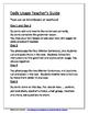 Daily Editing, Revising, and Mentor Sentences (SK)