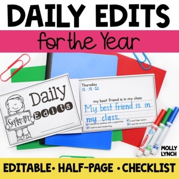 Daily Edits for the YEAR!