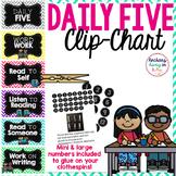 Daily Five Chart {chevron}