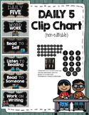 Daily Five Chart {wood}