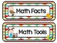 Daily Five Reading and Math Headers