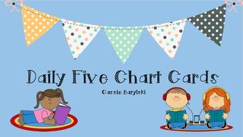 Daily Five Rotation Cards Editable