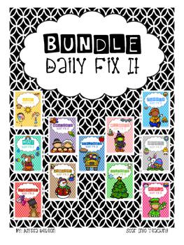 Daily Fix It BUNDLE - All Sets