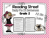 Daily Fix-It Sentences - Reading Street Scott Foresman