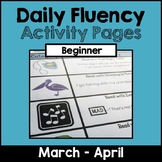 """Daily Fluency"" Activity Pack (March - April)"