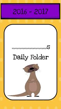 Daily Folder 2016-2017